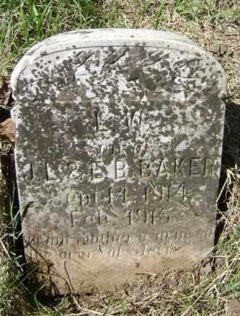 BAKER, L. W. - Lawrence County, Arkansas   L. W. BAKER - Arkansas Gravestone Photos