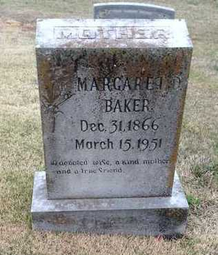 BILBREY BAKER, MARGARET DEE - Lawrence County, Arkansas | MARGARET DEE BILBREY BAKER - Arkansas Gravestone Photos