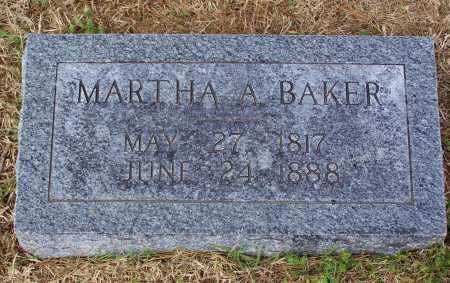 WASSON BAKER, MARTHA A. - Lawrence County, Arkansas | MARTHA A. WASSON BAKER - Arkansas Gravestone Photos