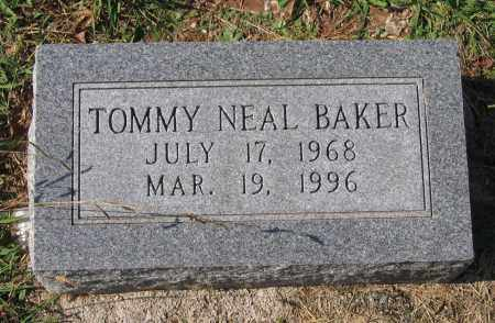 BAKER, TOMMY NEAL - Lawrence County, Arkansas | TOMMY NEAL BAKER - Arkansas Gravestone Photos