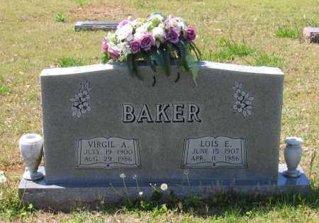 BAKER, VIRGIL ANDERSON - Lawrence County, Arkansas | VIRGIL ANDERSON BAKER - Arkansas Gravestone Photos