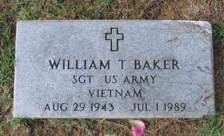 BAKER (VETERAN VIET), WILLIAM THOMAS - Lawrence County, Arkansas | WILLIAM THOMAS BAKER (VETERAN VIET) - Arkansas Gravestone Photos
