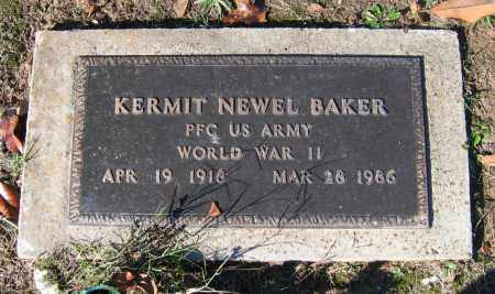 BAKER (VETERAN WWII), KERMIT NEWEL - Lawrence County, Arkansas | KERMIT NEWEL BAKER (VETERAN WWII) - Arkansas Gravestone Photos
