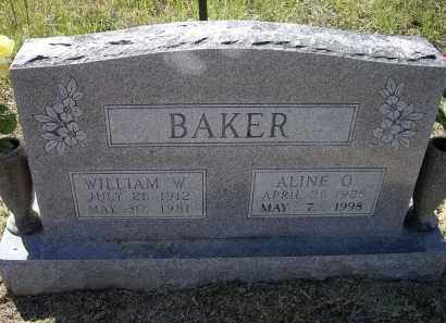 BAKER, ALINE O. - Lawrence County, Arkansas | ALINE O. BAKER - Arkansas Gravestone Photos