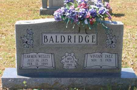 BALDRIDGE, EARMIN WESLEY - Lawrence County, Arkansas | EARMIN WESLEY BALDRIDGE - Arkansas Gravestone Photos