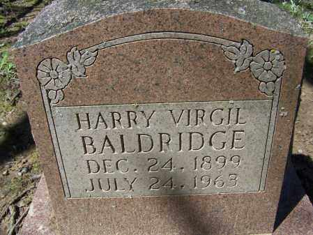 BALDRIDGE, HARRY VIRGIL - Lawrence County, Arkansas | HARRY VIRGIL BALDRIDGE - Arkansas Gravestone Photos