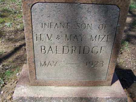 BALDRIDGE, JR., HARRY VIRGIL - Lawrence County, Arkansas | HARRY VIRGIL BALDRIDGE, JR. - Arkansas Gravestone Photos