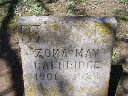 BALDRIDGE, ZONA MAY - Lawrence County, Arkansas | ZONA MAY BALDRIDGE - Arkansas Gravestone Photos