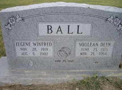 BALL, VOULEAN - Lawrence County, Arkansas | VOULEAN BALL - Arkansas Gravestone Photos