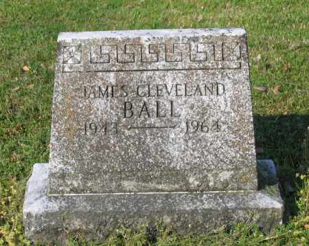 BALL, JAMES CLEVELAND - Lawrence County, Arkansas | JAMES CLEVELAND BALL - Arkansas Gravestone Photos