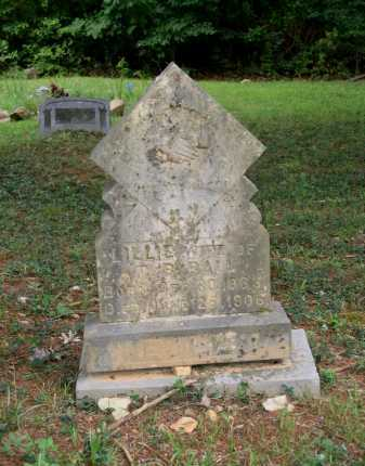 STRATTON BALL, LILLIE - Lawrence County, Arkansas | LILLIE STRATTON BALL - Arkansas Gravestone Photos