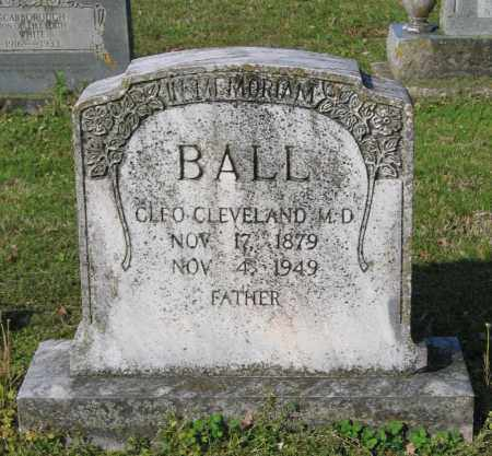BALL, MD, CLEO CLEVELAND - Lawrence County, Arkansas | CLEO CLEVELAND BALL, MD - Arkansas Gravestone Photos