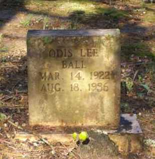 BALL, ODIS LEE - Lawrence County, Arkansas | ODIS LEE BALL - Arkansas Gravestone Photos