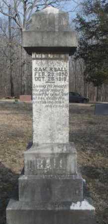 BALL, SAMUEL HOUSTON - Lawrence County, Arkansas | SAMUEL HOUSTON BALL - Arkansas Gravestone Photos