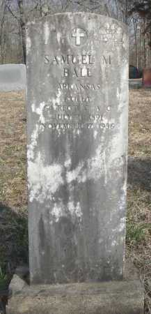 BALL (VETERAN WWI), SAMUEL MILLARD - Lawrence County, Arkansas | SAMUEL MILLARD BALL (VETERAN WWI) - Arkansas Gravestone Photos