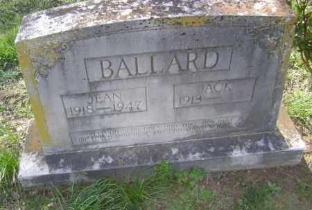 BALLARD, JEAN - Lawrence County, Arkansas | JEAN BALLARD - Arkansas Gravestone Photos