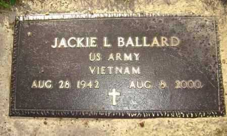 BALLARD (VETERAN VIET), JACKIE L. - Lawrence County, Arkansas | JACKIE L. BALLARD (VETERAN VIET) - Arkansas Gravestone Photos