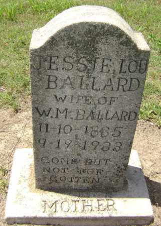 BALLARD, JESSIE LOU - Lawrence County, Arkansas | JESSIE LOU BALLARD - Arkansas Gravestone Photos