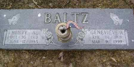 BALTZ, GENEVIEVE ANNA - Lawrence County, Arkansas | GENEVIEVE ANNA BALTZ - Arkansas Gravestone Photos