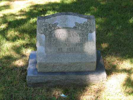 BANKS, WILLIAM LLOYD - Lawrence County, Arkansas | WILLIAM LLOYD BANKS - Arkansas Gravestone Photos