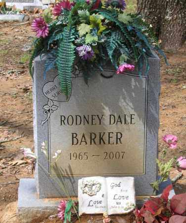 BARKER, RODNEY DALE - Lawrence County, Arkansas | RODNEY DALE BARKER - Arkansas Gravestone Photos
