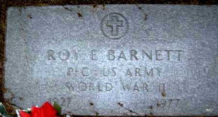 BARNETT  (VETERAN WWII), ROY E - Lawrence County, Arkansas | ROY E BARNETT  (VETERAN WWII) - Arkansas Gravestone Photos