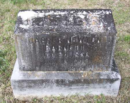BARNETT, JASPER NEWTON - Lawrence County, Arkansas | JASPER NEWTON BARNETT - Arkansas Gravestone Photos