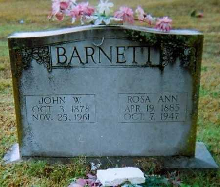 BARNETT, ROSA ANN - Lawrence County, Arkansas | ROSA ANN BARNETT - Arkansas Gravestone Photos