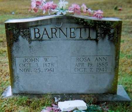 BARNETT, ROSA ANN - Lawrence County, Arkansas | ROSA ANN BARNETT - Arkansas Gravestone Photos