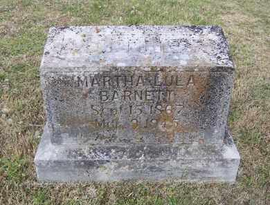FISHER BARNETT, MARTHA LULA - Lawrence County, Arkansas | MARTHA LULA FISHER BARNETT - Arkansas Gravestone Photos