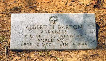 BARTON (VETERAN WWI), ALBERT HENRY - Lawrence County, Arkansas | ALBERT HENRY BARTON (VETERAN WWI) - Arkansas Gravestone Photos