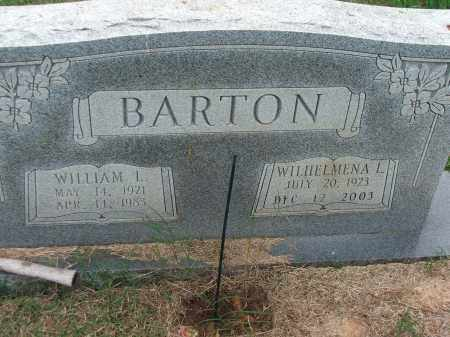 BARTON, WILHELMENA L. - Lawrence County, Arkansas | WILHELMENA L. BARTON - Arkansas Gravestone Photos
