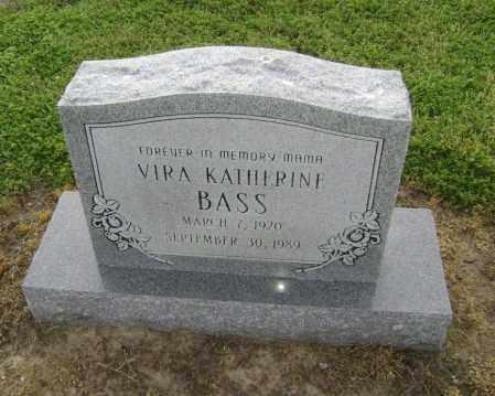 BASS, VIRA KATHERINE - Lawrence County, Arkansas   VIRA KATHERINE BASS - Arkansas Gravestone Photos