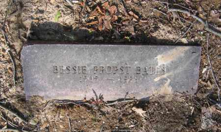 PROPST BATES, BESSIE - Lawrence County, Arkansas | BESSIE PROPST BATES - Arkansas Gravestone Photos