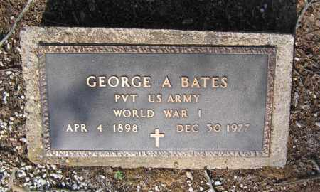 BATES (VETERAN WWI), GEORGE ANGUS - Lawrence County, Arkansas | GEORGE ANGUS BATES (VETERAN WWI) - Arkansas Gravestone Photos