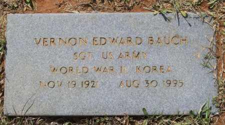BAUCH (VETERAN 2 WARS), VERNON EDWARD - Lawrence County, Arkansas | VERNON EDWARD BAUCH (VETERAN 2 WARS) - Arkansas Gravestone Photos