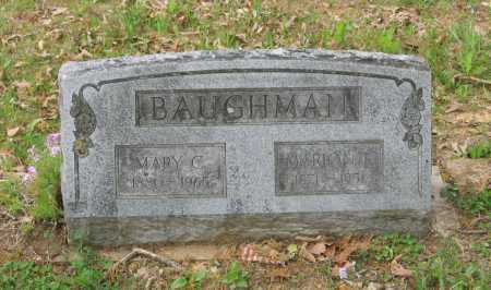 FLETCHER BAUGHMAN, MARY C. - Lawrence County, Arkansas | MARY C. FLETCHER BAUGHMAN - Arkansas Gravestone Photos
