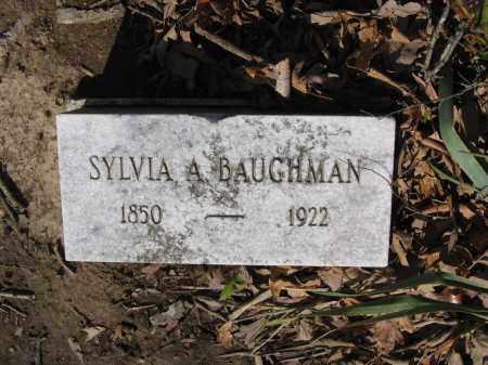 BAUGHMAN, SYLVIA A. - Lawrence County, Arkansas | SYLVIA A. BAUGHMAN - Arkansas Gravestone Photos