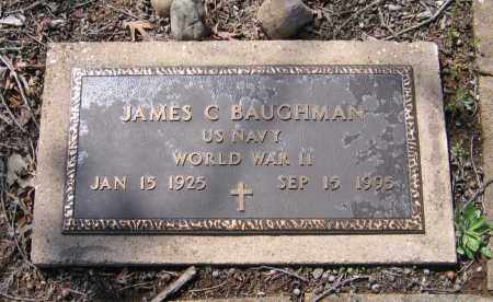 BAUGHMAN (VETERAN WWII), JAMES COLE - Lawrence County, Arkansas | JAMES COLE BAUGHMAN (VETERAN WWII) - Arkansas Gravestone Photos