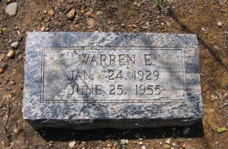 BAUGHMAN, WARREN E. - Lawrence County, Arkansas | WARREN E. BAUGHMAN - Arkansas Gravestone Photos