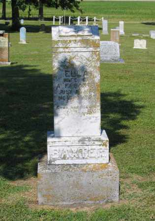 BAXTER, ELLA - Lawrence County, Arkansas | ELLA BAXTER - Arkansas Gravestone Photos