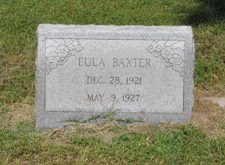 BAXTER, EULA - Lawrence County, Arkansas | EULA BAXTER - Arkansas Gravestone Photos