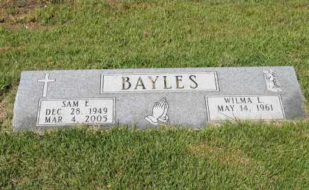 "BAYLES, SAM EUGENE ""BULL"" - Lawrence County, Arkansas 