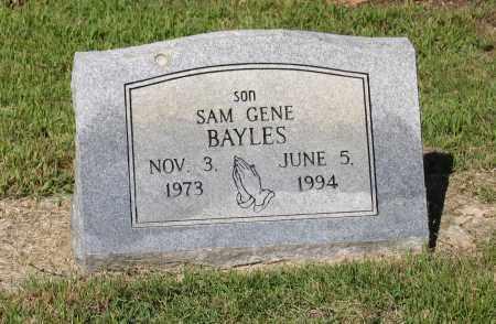"BAYLES, SAM EUGENE ""GENE"" - Lawrence County, Arkansas | SAM EUGENE ""GENE"" BAYLES - Arkansas Gravestone Photos"