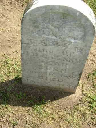 BEAR, MABLE B. - Lawrence County, Arkansas | MABLE B. BEAR - Arkansas Gravestone Photos