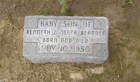 BEARDEN, INFANT SON - Lawrence County, Arkansas | INFANT SON BEARDEN - Arkansas Gravestone Photos