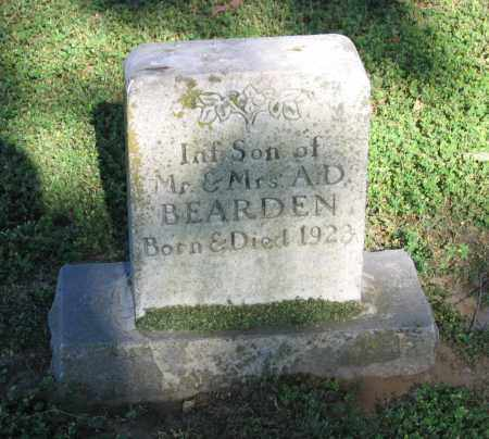 BEARDEN, INFANT SON - Lawrence County, Arkansas | INFANT SON BEARDEN - Arkansas Gravestone Photos