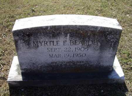 BEARDEN, MYRTLE E. - Lawrence County, Arkansas   MYRTLE E. BEARDEN - Arkansas Gravestone Photos