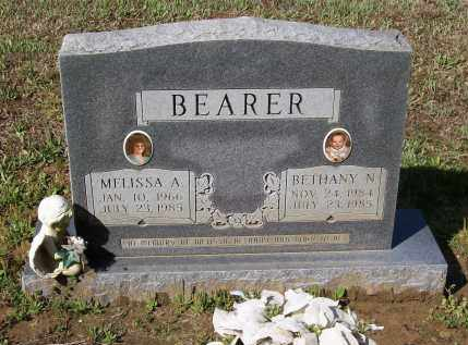 SMITH BEARER, MELISSA - Lawrence County, Arkansas | MELISSA SMITH BEARER - Arkansas Gravestone Photos