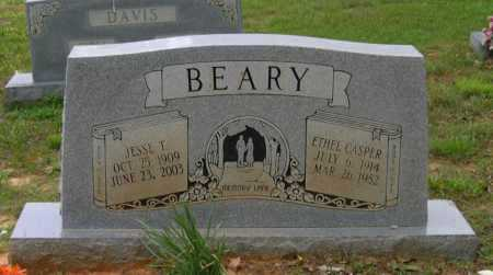 CASPER BEARY, ETHEL LEE - Lawrence County, Arkansas | ETHEL LEE CASPER BEARY - Arkansas Gravestone Photos